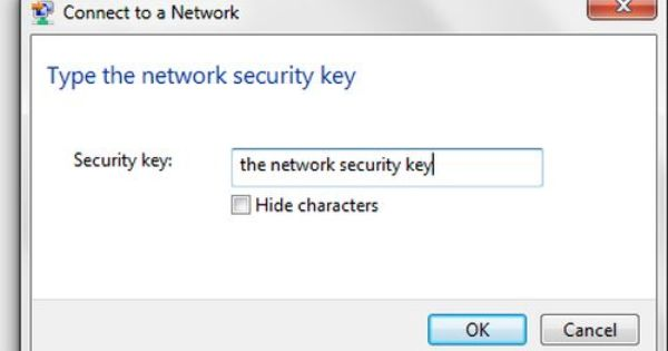 Type The Network Security Key How Internet Works Network Security Support Funny
