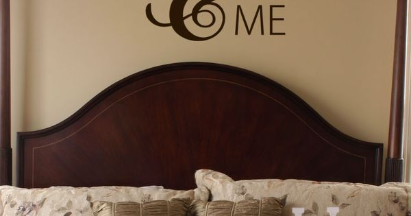 You and me vinyl wall decal words with large ampersand for Ampersand decoration etsy