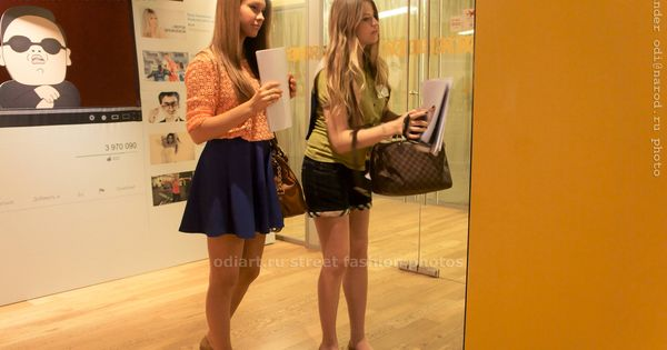 Mini Skirt Hot Pants Street Fashion Russia Moscow Girls In Moscow Google Office Alexander