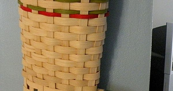 Paper Basket Weaving Supplies : A hand woven life christmas stocking tutorial basket