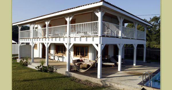 Surréaliste Maison En Bois Louisiane #2 | Maisons style louisiane, Maison bois BH-42