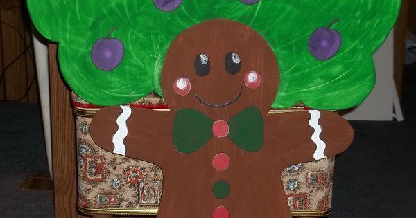 Gingerbread Plum Tree Finished Lisa Gabi S B Day