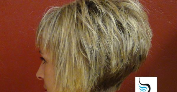 Hair Ideas For Short Hair Pinterest: Stacked Bob Haircut Back View
