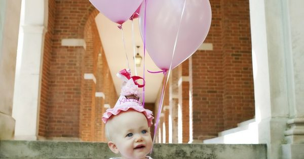 Arrie Lugar -- idea for sweet Gracie's one year old pics?