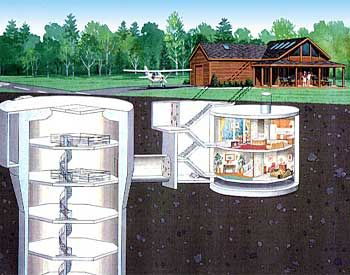 Underground Homes As Emergency Shelters Underground Bunker Plans Underground Homes Underground Bunker