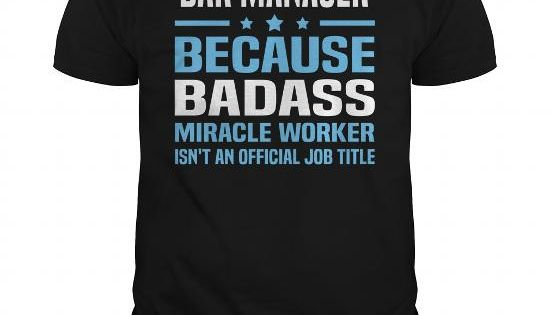 Bar Manager Job Shirts Pinterest The ou0027jays, Shirts and Clothes - bar manager job description