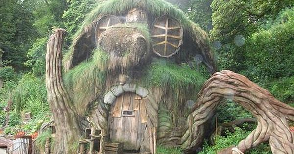 Hobbit House Looks Like A Gnarled Up Old Teapot
