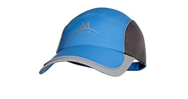 Mission Enduracool Competition Cooling Hat Bluecharcoal You Can