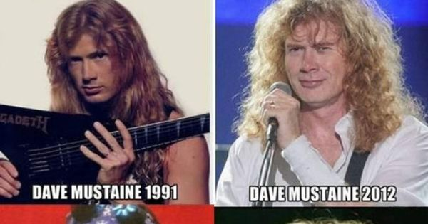 james hetfield dave mustaine axl rose funny then and