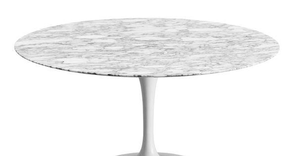 Mesa saarinen carrara 120 high quality mesas de comedor for A line salon corte madera