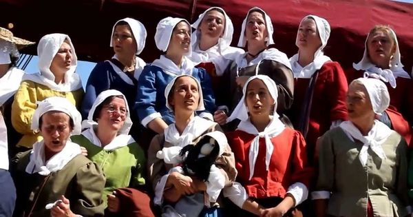 reconstitution de l u0026 39 arriv u00e9e des filles du roy en 1663  u00e0 ville