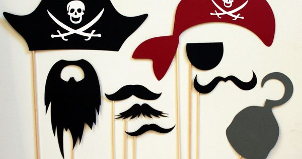 Pirate party photo booth Party Ideas