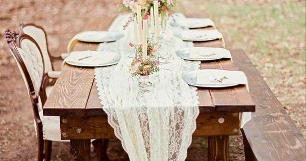 ... pour un mariage champêtre romantique  Fonts, Mariage and Couple