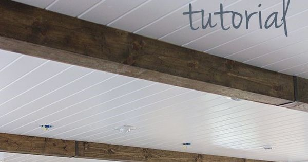 Kitchen Chronicles: DIY Wood Beams | Wood Beams ...