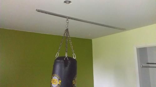 Tuffrail Finished Ceiling Mount Heavy Bag Mount Heavy Bags Ceiling