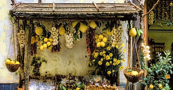 A Lemon Stand- in Sorrento, Italy. My dream job?