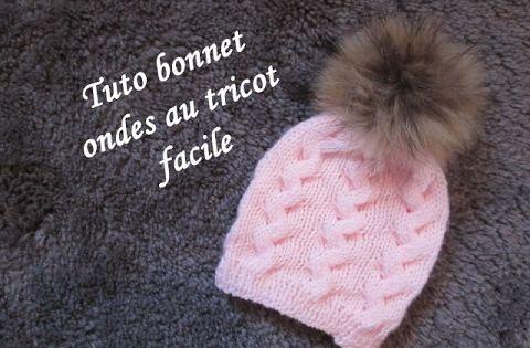 tuto bonnet torsade onde au tricot les tutos tricot de fadinou pinterest tricot facile le. Black Bedroom Furniture Sets. Home Design Ideas
