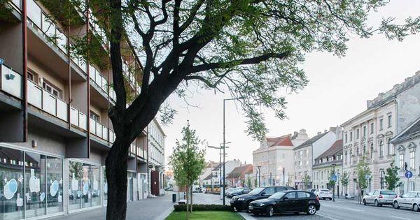 Sopron castle district revitalization 14 landscape - Lapuente exteriorismo ...