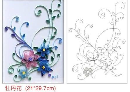 「paper quilling patterns free pdf」の画像検索結果 | Paper Quilling ...