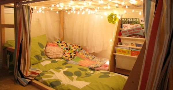 27 Ways To Rethink Your Bed - Kid and adult bed ideas.