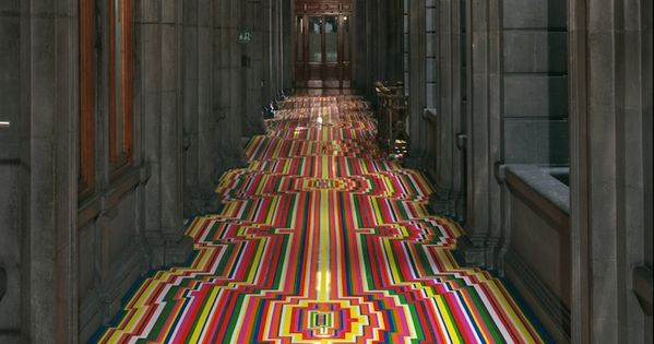 JIM LAMBIE – STUNNING GEMOETRIC FLOOR INSTALLATIONS Design Floor Geometric JimLambie