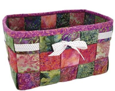 how to make a quilted biscuit basket