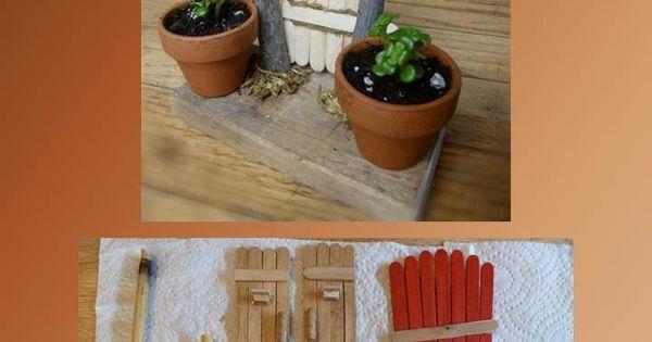 Puertas para casitas de gnomos y hadas ideas originales for Decoracion jardin gnomos