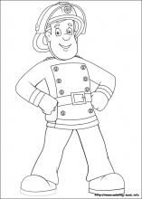 Fireman Sam Coloring Pages On Coloring Book Info Fireman Sam Fireman Party Fireman Sam Birthday Party
