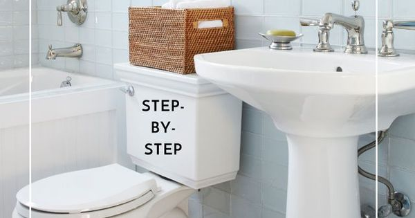 How To Clean Your Bathroom Like A Pro One Good Thing By Jillee Cabinets Sons And Medicine