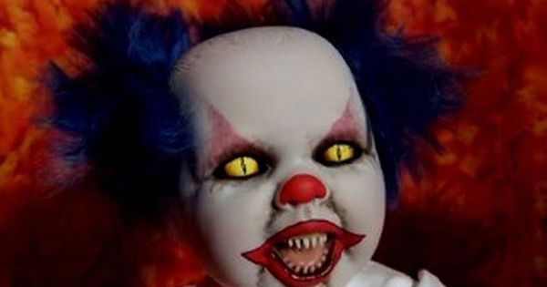 When You See It Scary Clown: The 20 Creepiest Clowns EVER, These