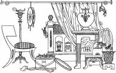 Roman Furniture With Images Ancient Rome Interior Design