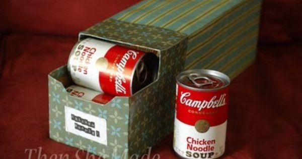 Soup storage idea. I don't know if you are like me, but
