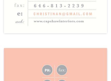 calling card