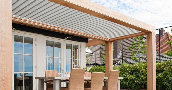 Veranda van hout livium tuin pinterest veranda hout en tuin - Hout pergola dekking ...