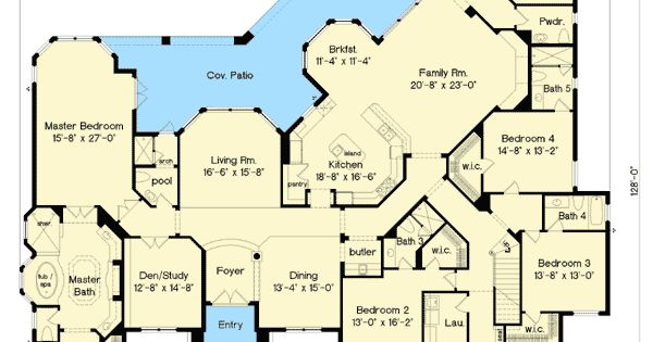 Luxurious French Country House Plan 83387CL European