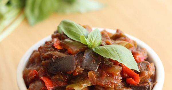 Slow cooker ratatouille | Recipe | Onions, Salts and Fresh basil