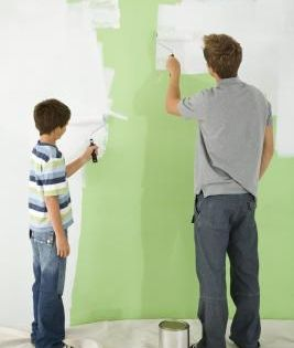 How To Prime Walls That Have Dark Colors Dark Painted Walls Dark Paint Colors Dark Blue Walls