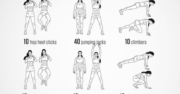 darebee workout