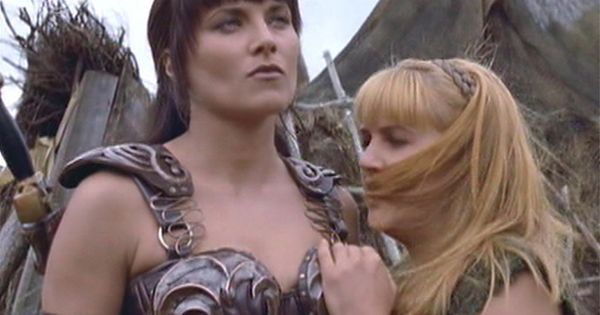 Lucy lawless fucked in ass