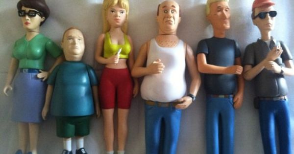 king of the hill quotloose collectable figuresquot ebay king