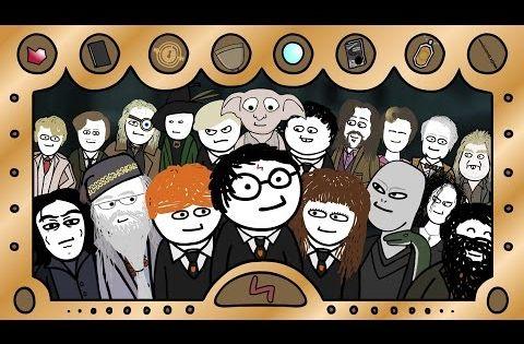 Die Komplette Harry Potter Saga In So Und So Vielen Sekunden Youtube Harry Potter Potter Harry