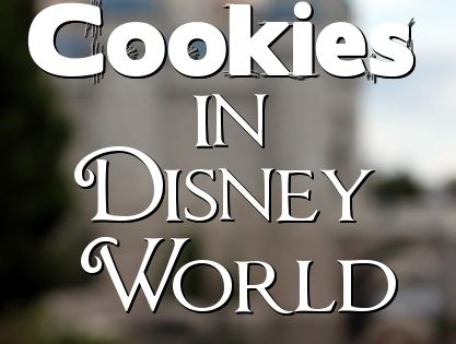 Best Cookie Snacks in Walt Disney World - Caramel Apple Cookie in