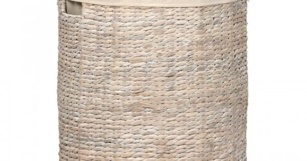 Wasmand water hyacint wasmanden droogrekken badkamer interior inspiration - Water badkamer model ...