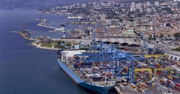 Port Of Rijeka Croatia Rijeka Port Croatia