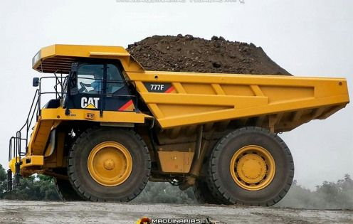 Caterpillar 777f Constructionvehicles Construction Vehicles Real Dump Truck Caterpillar Equipment Trucks
