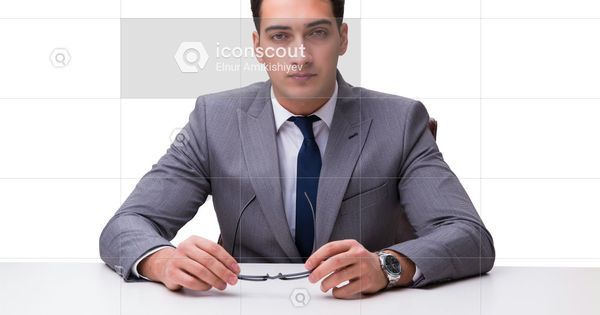 Premium Young Businessman Isolated On White Background Photo Download In Png Jpg Format White Background Photo White Background Business Photos