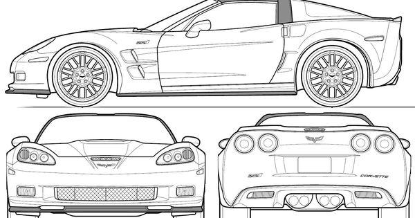 automobile blueprints