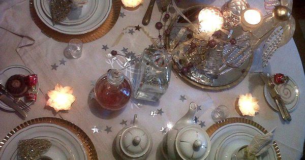 Id es de d co de table de no l id es de d coration de for Decoration table nouvel an