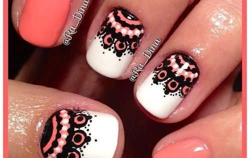 Cute Nail Art - nails nail_art nails_design nail_ ideas nail_polish ideas beauty