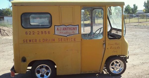 odd rob s custom van from mail truck to custom voyages pinterest custom vans vans and cars. Black Bedroom Furniture Sets. Home Design Ideas